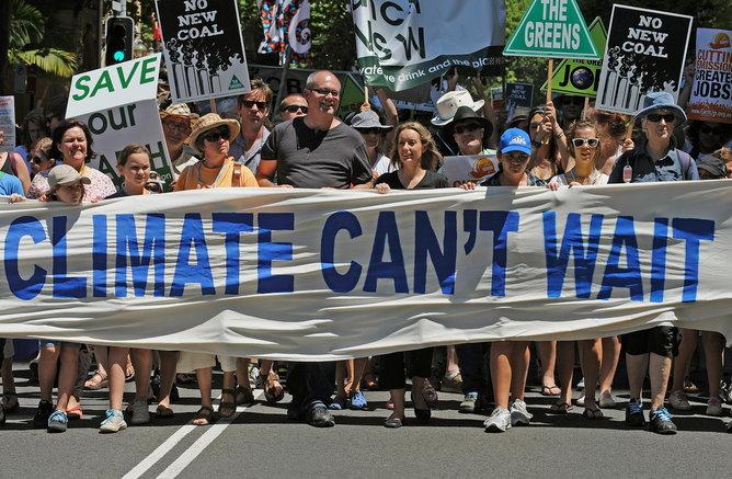 AUSTRALIA-UN-CLIMATE-WARMING-PROTEST